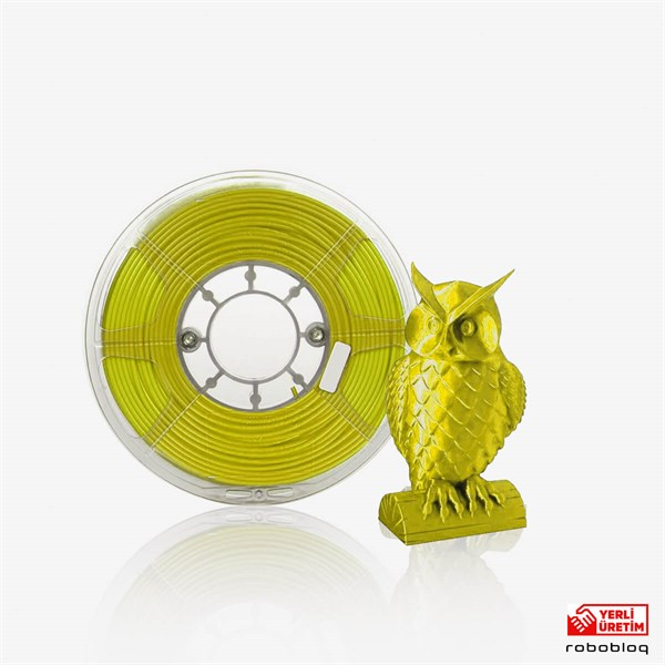 İthal Sarı Filament PLA + 1.75mm 1 KG Plus