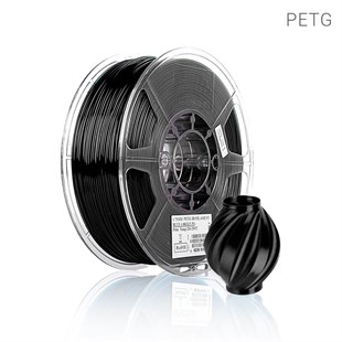 Siyah PETG Filament 1.75 mm Plus 750 GRAM